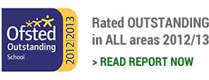 Rated OUTSTANDING in ALL areas 2012/13. Read report now