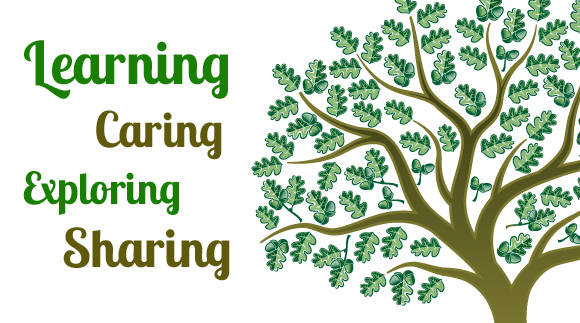 Learning, Caring, Exploring and Sharing