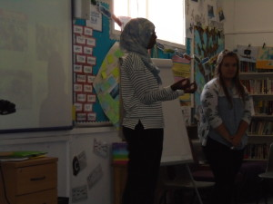 Meeting Rehana and learning about being a Muslim in England