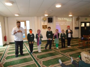 Our visit to the mosque