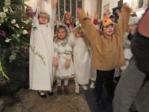 Chuck the chicken, (Amelia), with the angels